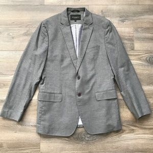 Banana Republic Gray Tailored Fit Blazer 42R